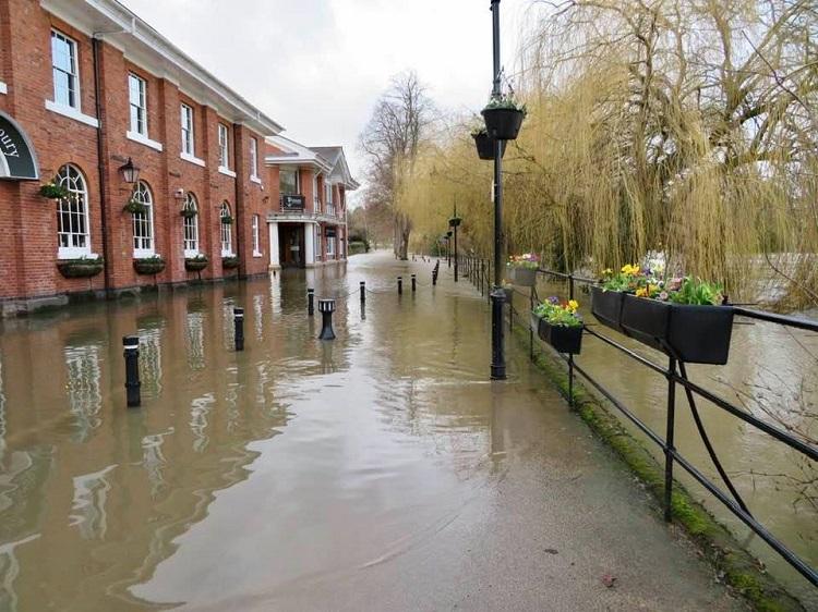 Wetter Shrewsbury