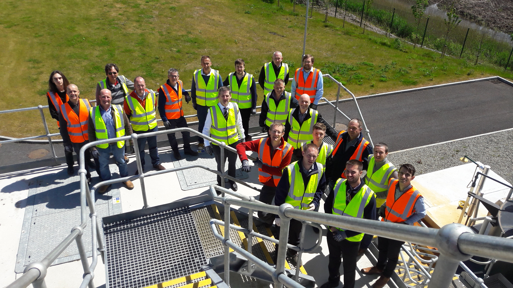 Severn Trent visiting the Nereda plant in Carrigtwohill
