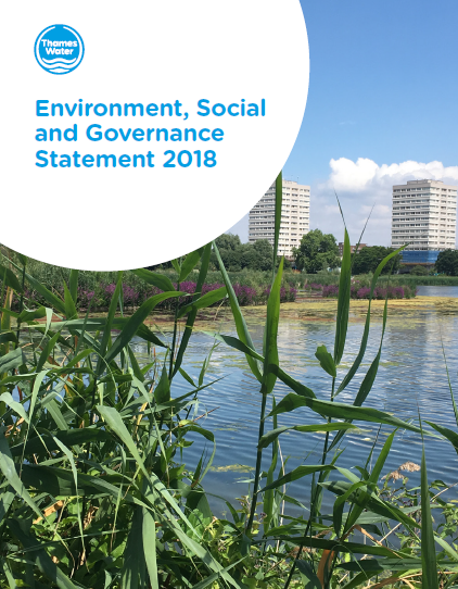 THAMES ESG STATEMENT 2018