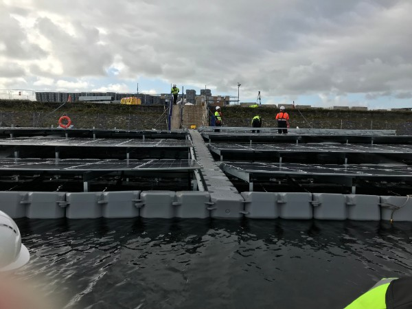 UU Pontoons under construction 1